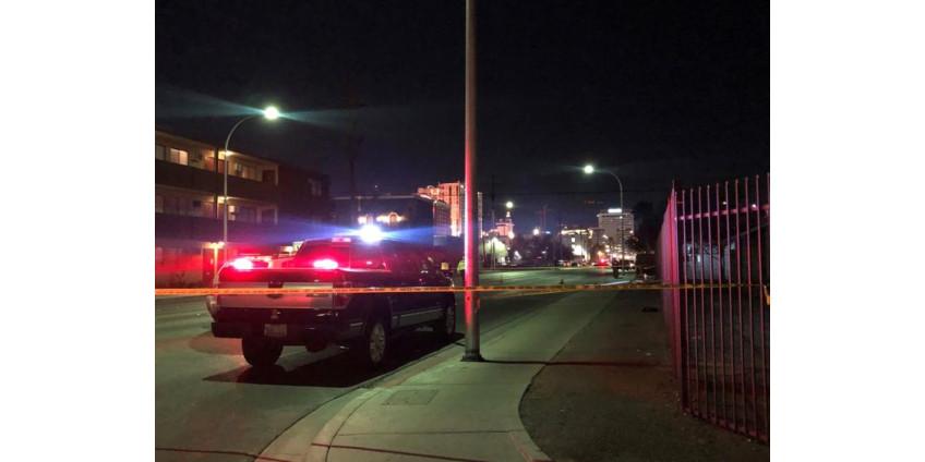 В центре Лас-Вегаса под колесами авто погибла женщина