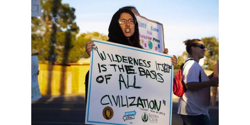 """Активисты Лас-Вегаса: """"Защита наших земель важна, потому что она дает нам жизнь"""""""