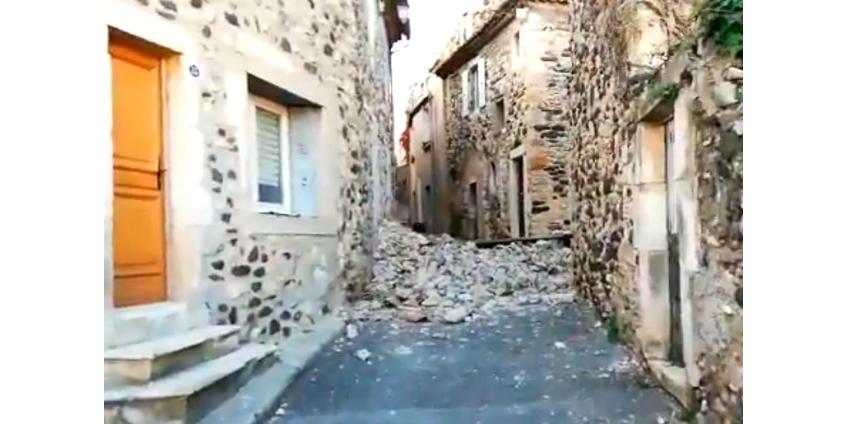 В южной части Франции произошло сильное землетрясение: есть пострадавшие