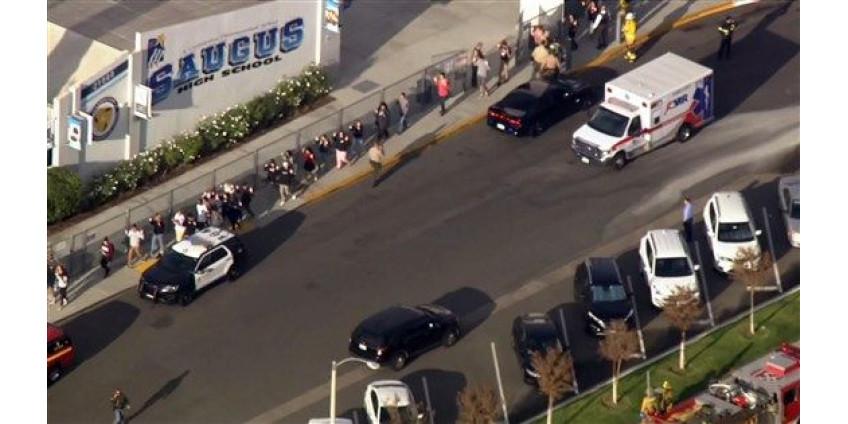 Подросток, устроивший стрельбу в калифорнийской школе, скончался