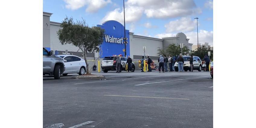 Из точки Walmart в Лас-Вегасе были эвакуированы люди