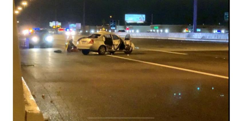 Опознан мужчина, погибший в автокатастрофе на 95-м шоссе Лейк-МИД в Лас-Вегасе