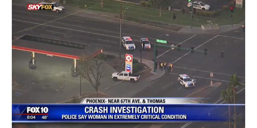 В Западном Финиксе под колесами автомобиля погибла женщина