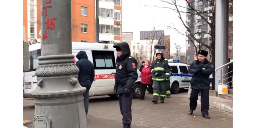 """В Москве вновь """"заминировали"""" более 10 школ, 10 судов, все аэропорты, пять вокзалов, больницы"""