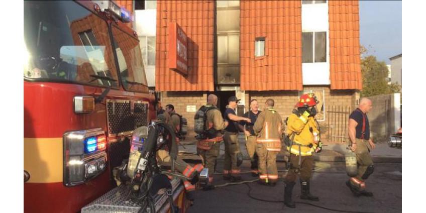 Пожар в одном из мотелей Лас-Вегаса: 5 погибших, 13 госпитализированных