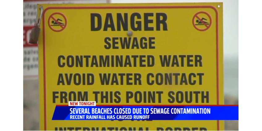 В Сан-Диего закрыты несколько пляжей из-за загрязненной воды