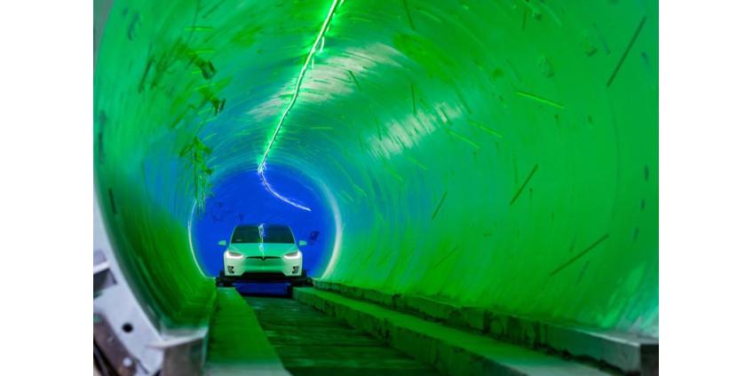 По словам Илона Маска, туннель под Лас-Вегасом будет готов уже в 2020 году
