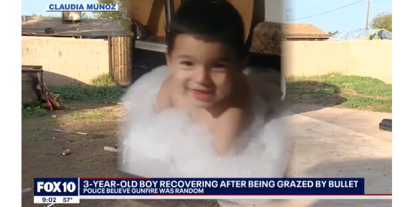 В Финиксе ребенок был ранен в новогоднюю ночь в результате случайного выстрела
