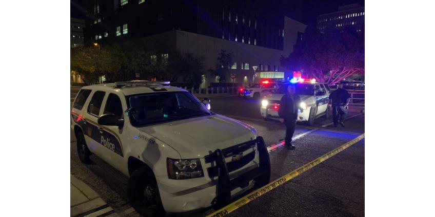 В центре Финикса произошла перестрелка с полицией