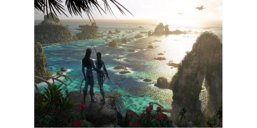 """Создатели """"Аватара-2"""" обнародовали первые концепт-арты: в сиквеле будут исследовать новые части света"""