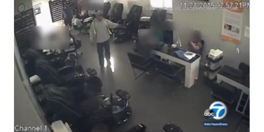 Полиция Лос-Анджелеса ищет вооруженных бандитов, нападающих на маникюрные салоны