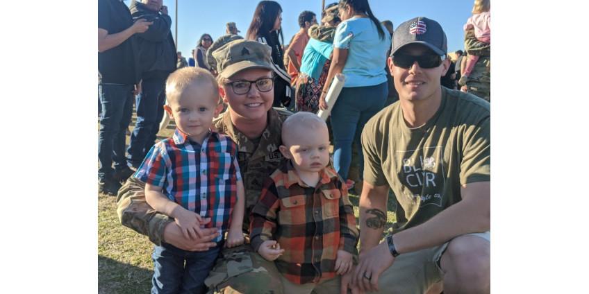 В Финикс вернулись более 150 военнослужащих Национальной гвардии