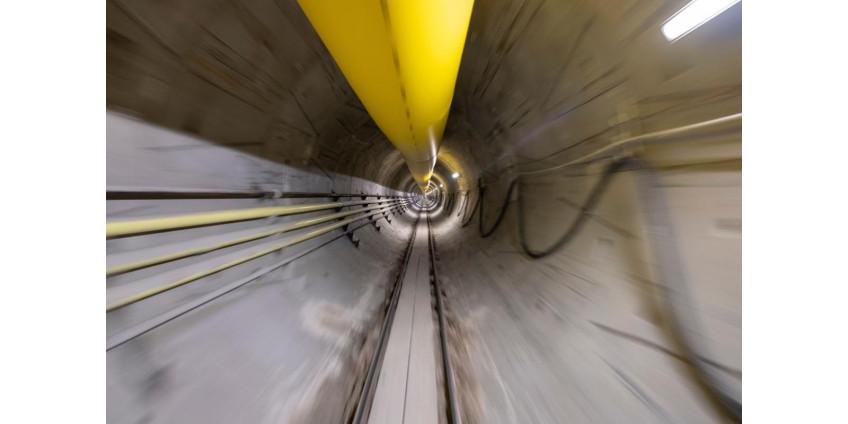 Представители LVCVA опубликовали новые фото строительства туннеля под Лас-Вегасом