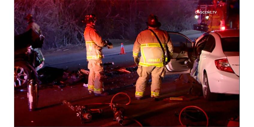 Автокатастрофа в Сан-Диего: 1 убитый, 1 тяжело раненный