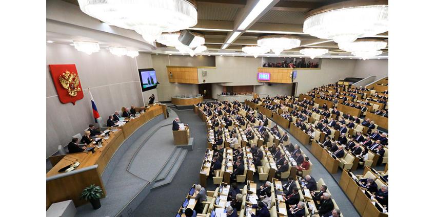Госдума единогласно приняла в первом чтении президентский законопроект о поправках в Конституцию