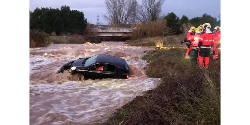 """Шторм """"Глория"""" в Испании унес жизни 11 человек, еще 5 пропали без вести"""