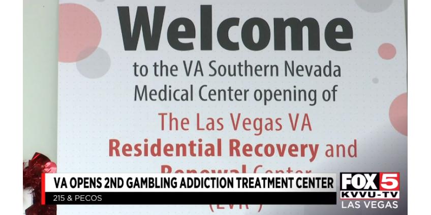 VA открывает второй центр лечения игровой зависимости в Лас-Вегасе