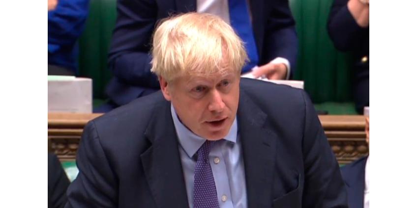 Борис Джонсон подписал соглашение о выходе Великобритании из Евросоюза