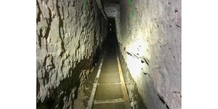 В Сан-Диего обнаружили самый длинный тоннель, ведущий в Мексику