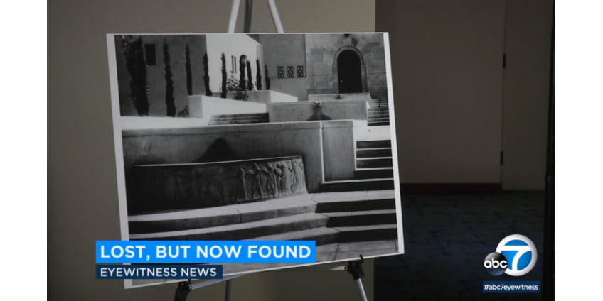 Библиотека Лос-Анджелеса предлагает вознаграждение в размере $10,000 за информацию о недостающих частях скульптуры