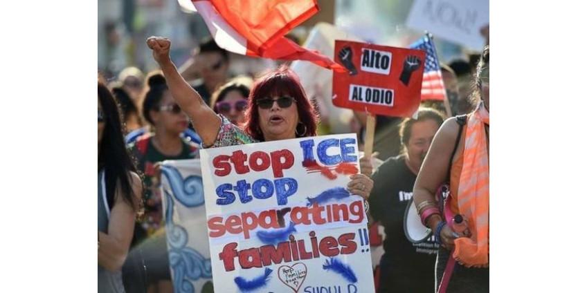 В Сан-Диего сочли правомочным разлучение детей мигрантов с родителями