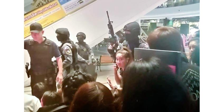 Солдат устроил стрельбу в Таиланде и взял в заложники людей в торговом центре, много погибших