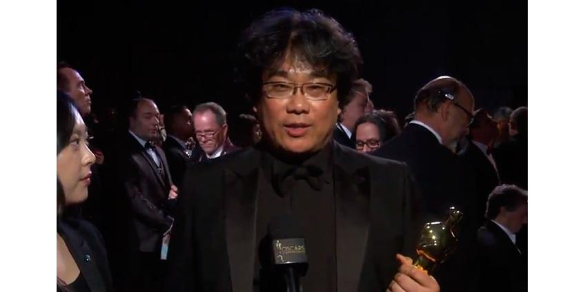 """Корейский фильм """"Паразиты"""" устроил революцию на """"Оскаре"""", став его триумфатором"""