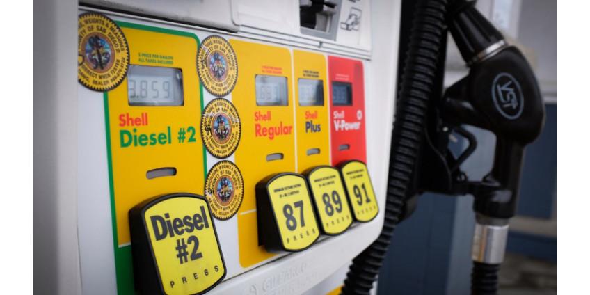 Цены на бензин в Лос-Анджелесе растут четвертый день подряд