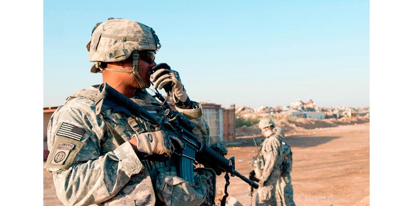 Военная база коалиции США в Ираке подверглась ракетному удару