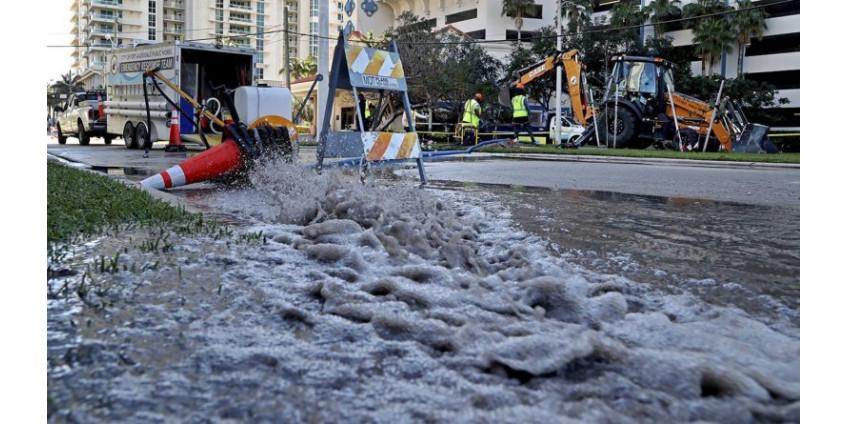 Миллионы галлонов токсичных нечистот отравляют питьевую воду Форт-Лодердейла во Флориде