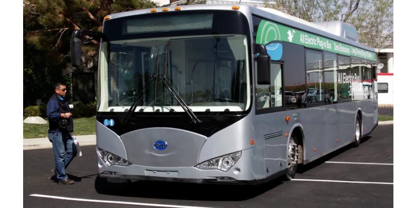 Лос-Анджелес объявил о закупке 155 электроавтобусов