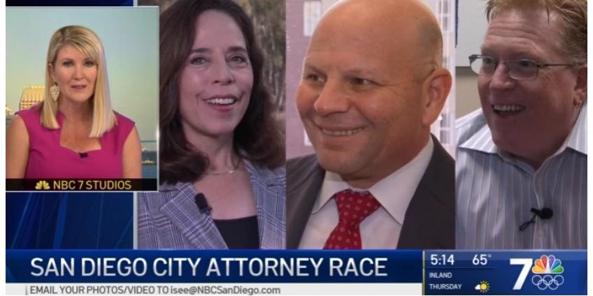 Действующий прокурор Сан-Диего рассчитывает на переизбрание