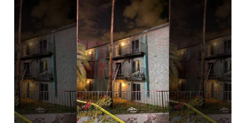 6 человек пострадали в результате пожара в жилом доме на Западе Финикса