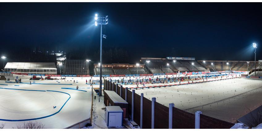 На чешский этап Кубка мира по биатлону не пустят зрителей