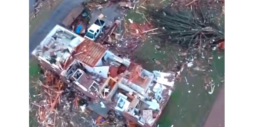 Торнадо в Теннесси разрушили десятки домов, погибли 22 человека