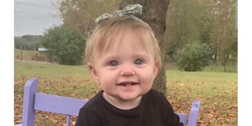 Найдены останки пропавшей 2 недели назад 15-месячной Эвелин Босвелл
