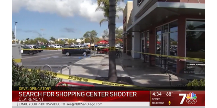 Полиция Сан-Диего расследует стрельбу в торговом центре в Клермонте