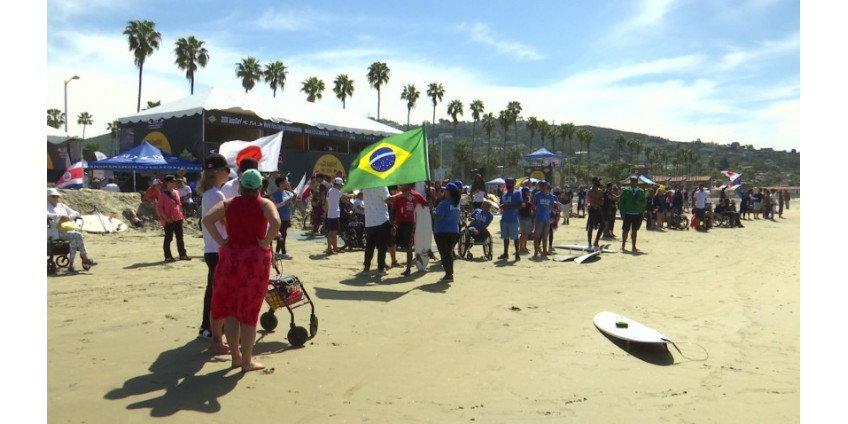 В La Jolla прошел Всемирный чемпионат по пара-серфингу