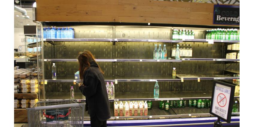 Власти Лос-Анджелеса призывают жителей перестать копить продукты и делать запасы