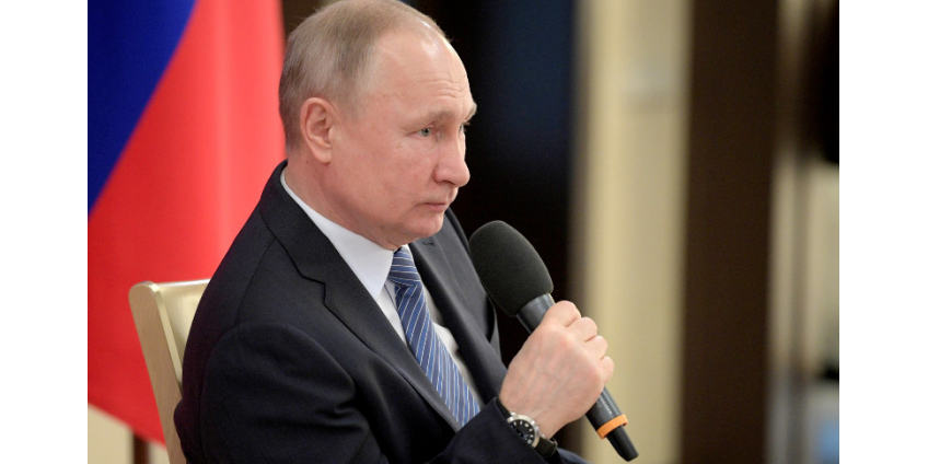 Путин рассчитывает победить коронавирус в РФ быстрее чем за три месяца