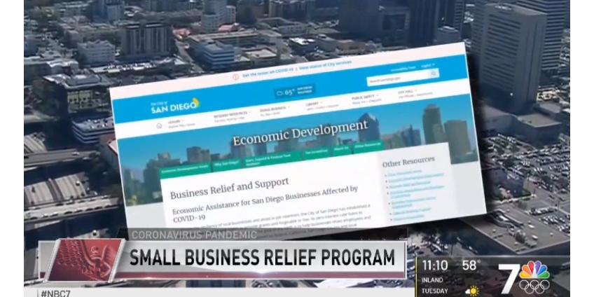 Бизнес в Сан-Диего начал массово подавать заявки о помощи