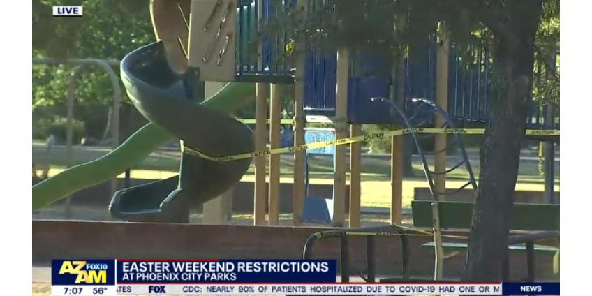 В парках Финикса вводят дополнительные ограничения на пасхальные выходные