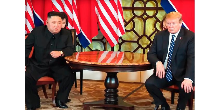 В Пхеньяне заявили, что Ким Чен Ын не писал Трампу в последнее время