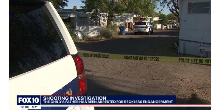 Финикс: в результате неосторожного обращения с оружием ранение в голову получил 4-хлетний ребенок