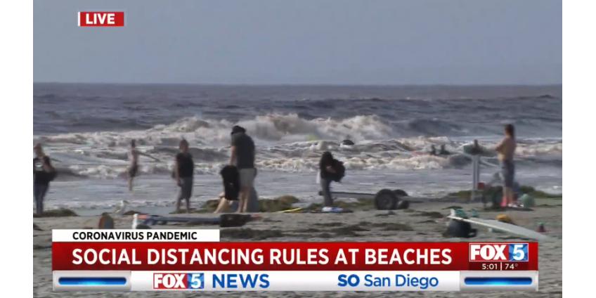 Службы спасателей Сан-Диего: как проходят первые выходные на пляже
