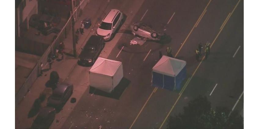 В результате ДТП в Уоттсе в пятницу вечером погибли три человека