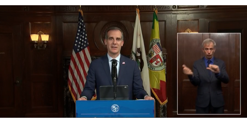 Мэр Лос-Анджелеса: округ пока не готов ослабить ограничения