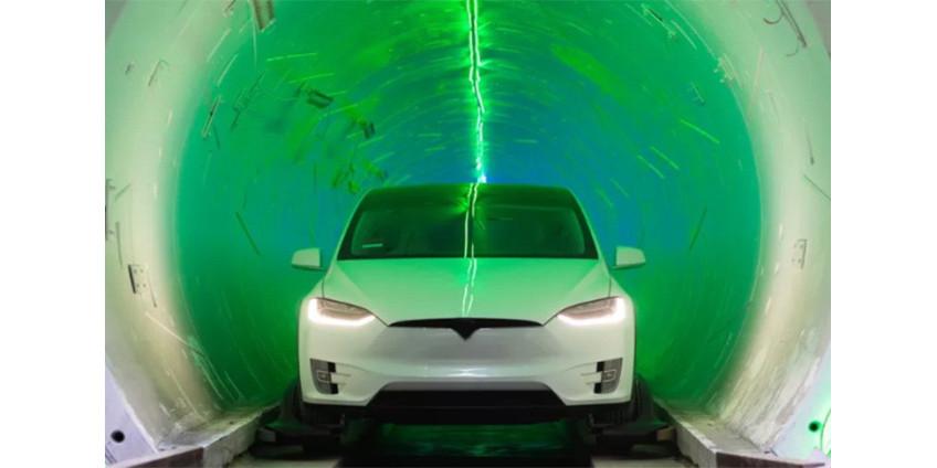 Илон Маск закончил второй тоннель под Лас-Вегасом