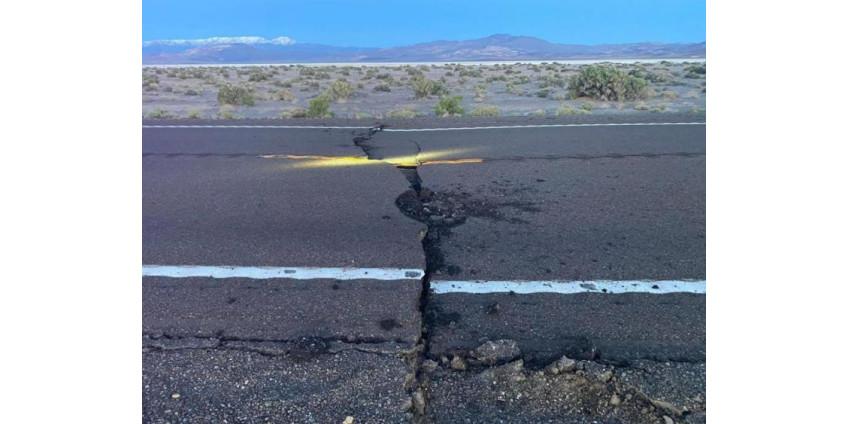 В Неваде произошло сильнейшее за 65 лет землетрясение