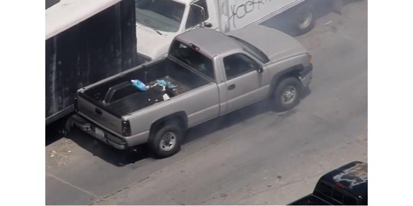 Двухчасовая погоня в Лос-Анджелесе закончилась поимкой водителя